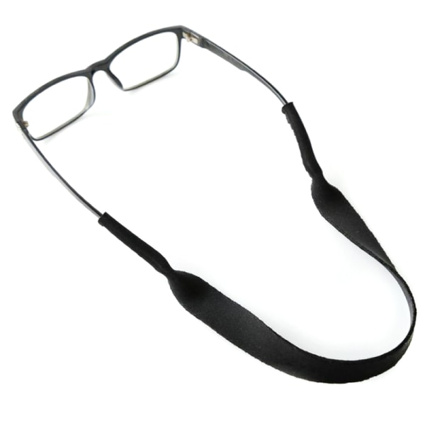 Sports Neoprene Glasses Lanyard Neck Chain Eyewear Grey