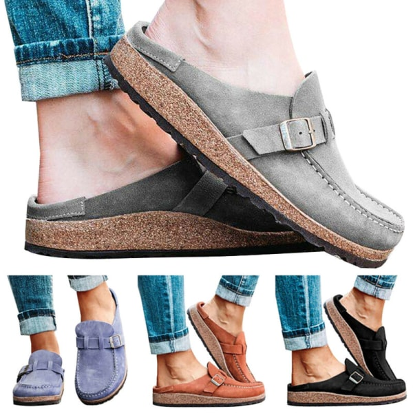 Women Pumps Slip On Flat Loafers Trainers Sneakers Casual Comfy Boat Shoes Size