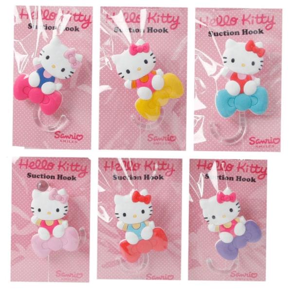 Hello Kitty Handdukskrokar Turkos Turkos Turkos rosett