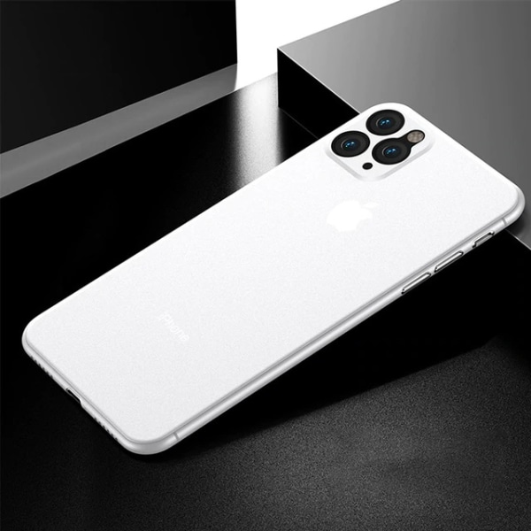Elegant Ultra tunn skal iphone 11 Vit vit