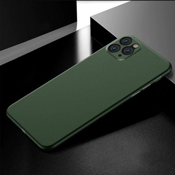 Elegant Ultra tunn skal iphone 12 mini -Flera färger Grön