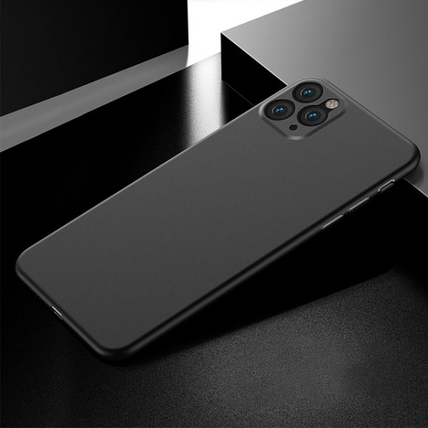 Elegant Ultra tunn skal iphone 12 Mini -Flera färger Svart