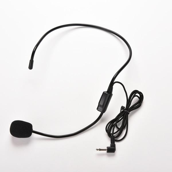 Vocal Wired Headset mikrofon mikrofon för röstförstärkare spe