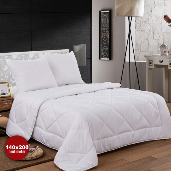 Mikrofiber sängkläder (Duvet + 2 kuddar) - 140x200cm 140 cm