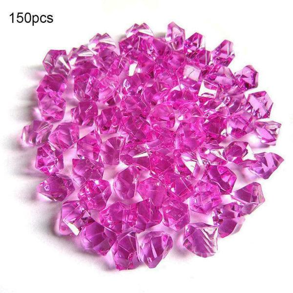 150 * Akrylkristallpärlor Stone Nugget Fish Tank Aquarium Decor