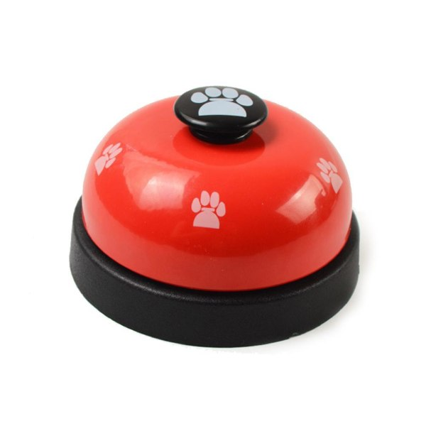 Toy Ring Footprint Small Call Pet Puppy Dog Dinner Call Bell Tra