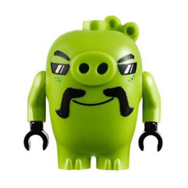 Lego Figur Angry Birds Figs - Biker Pig (75823) LF23-6