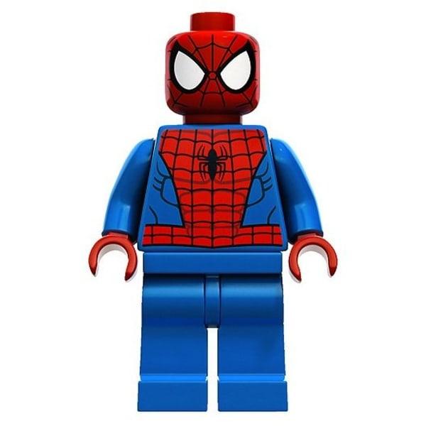 Lego Figurer Marvel Superheroes Spiderman Ljusblå BL1
