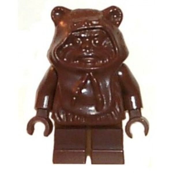 Lego Figurer Star Wars Ewok Wicket klassisk Brun LF50-16