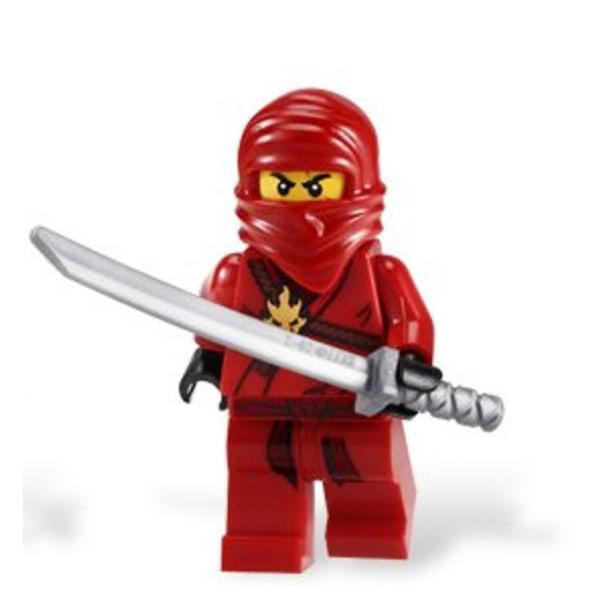LEGO Ninjago Figur  - Kai Klassiska Röd LF51-40