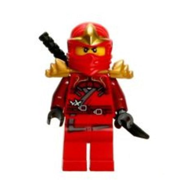 LEGO Ninjago Figur - Kai ZX med armor LF51-12