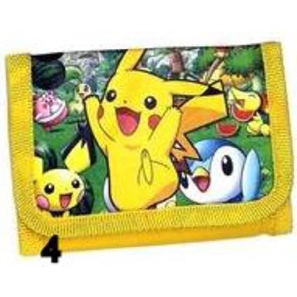 Pokemon Pikachu Gul Börs Wallet Plånbok Yellow PL43