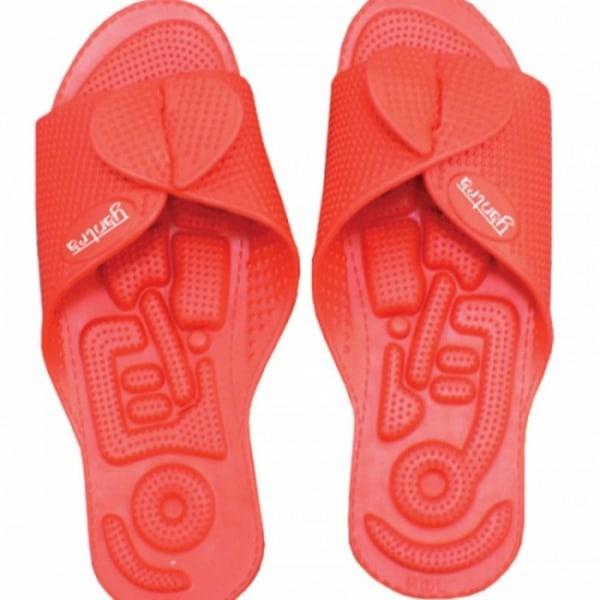 Yantra Twinflex sko sandal Toffel Vändbar - Röd 38/41