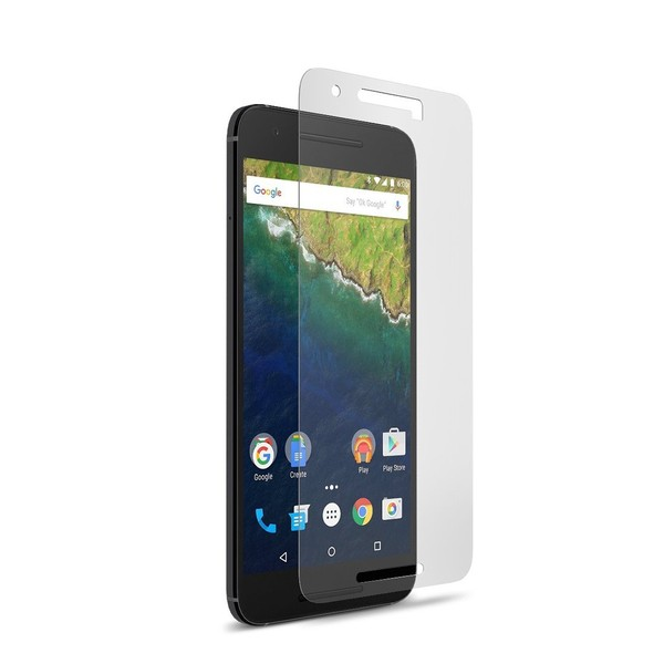 2-PACK Härdat glas Nexus 6P Transparent