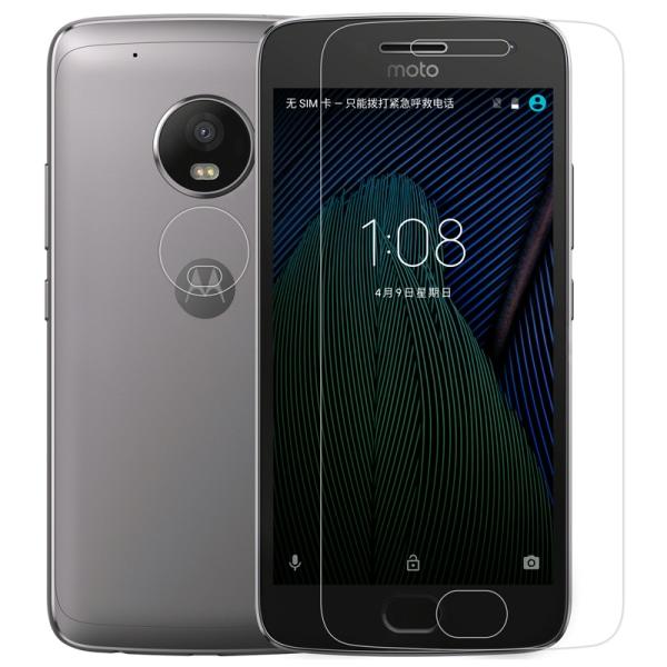 2-PACK Härdat glas till Moto G5 Plus Transparent