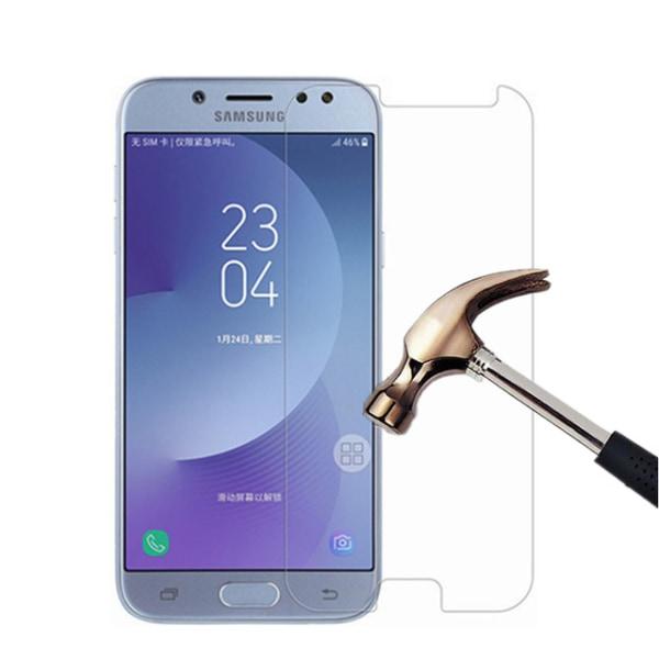 2-PACK Härdat glas till Samsung Galaxy J5 2017 Transparent