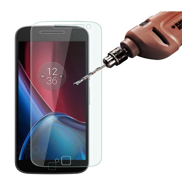 2st - Härdat glas till Moto G4 Plus Transparent