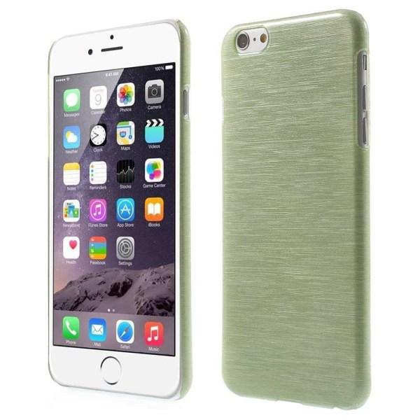 Blankt borstat stål hårdskal iPhone 6/6S - fler färger Rosa