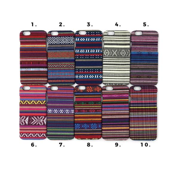 Broderade skal med motiv iPhone 6/6S multifärg