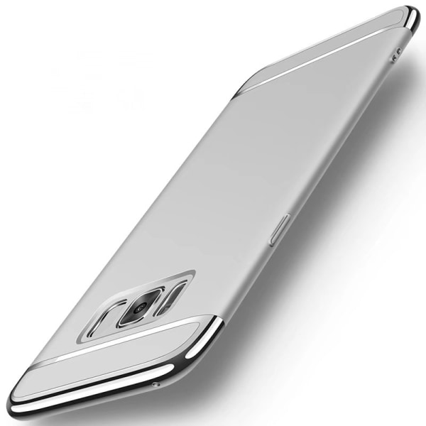 Design skal 3 i 1 guldkant till Samsung Galaxy S8 - fler färger Silver