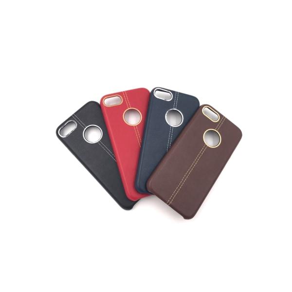 Detaljrikt skal till iPhone 6/6S Retro känsla - fler färger Röd