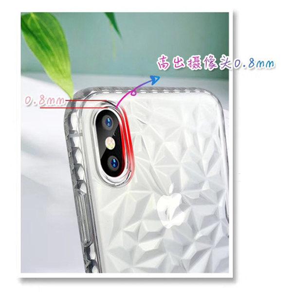 Extra tåligt 3D Diamant TPU iPhone 7/8 PLUS - fler färger Rosa