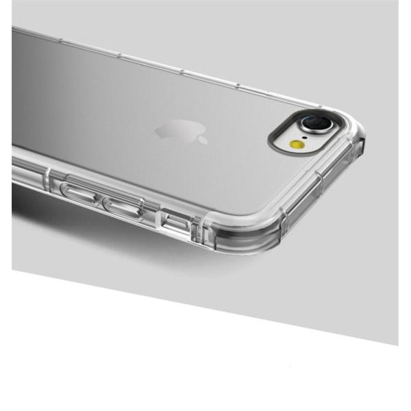 Extra tåligt silikonskal iPhone 7 - fler färger Blå