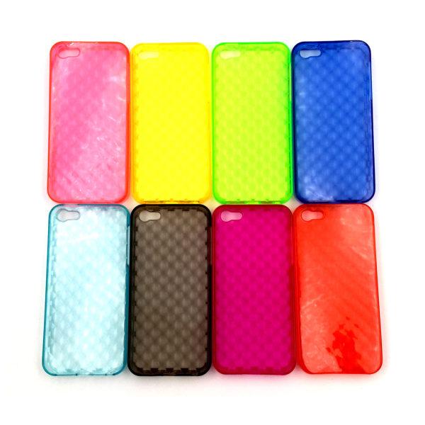 Facet Skal iPhone 5/5S/SE - fler färger Svart