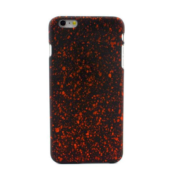 Färg Splash Skal iPhone 6/6S - fler färger Orange