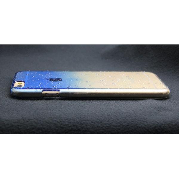 Gradient skal till iPhone 6/6S med vattendroppar - fler färger Röd