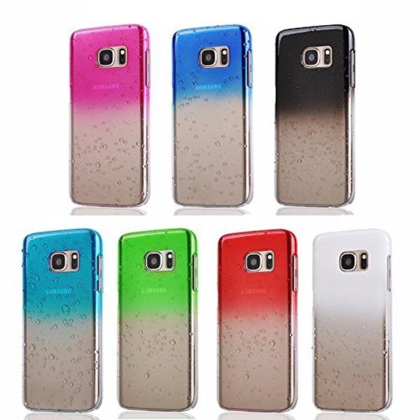 Gradient skal till Samsung S7 Edge vattendroppar - fler färger Turkos