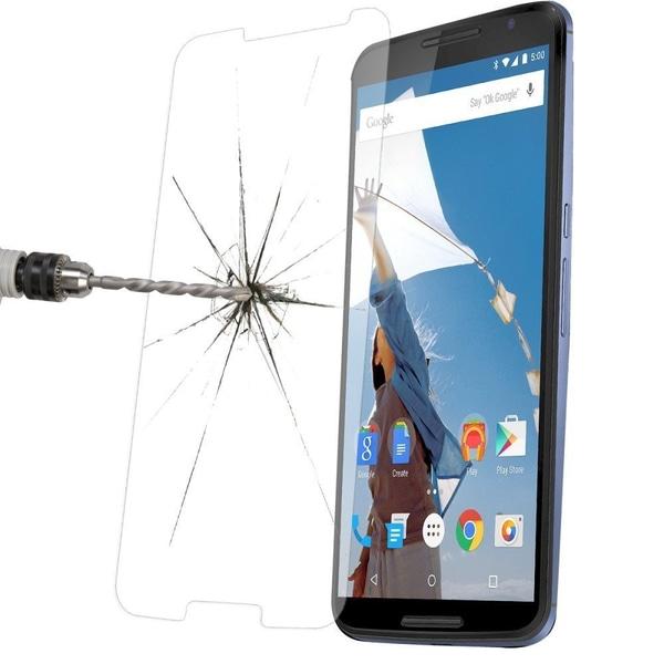 Härdat glas Google Nexus 6 Transparent
