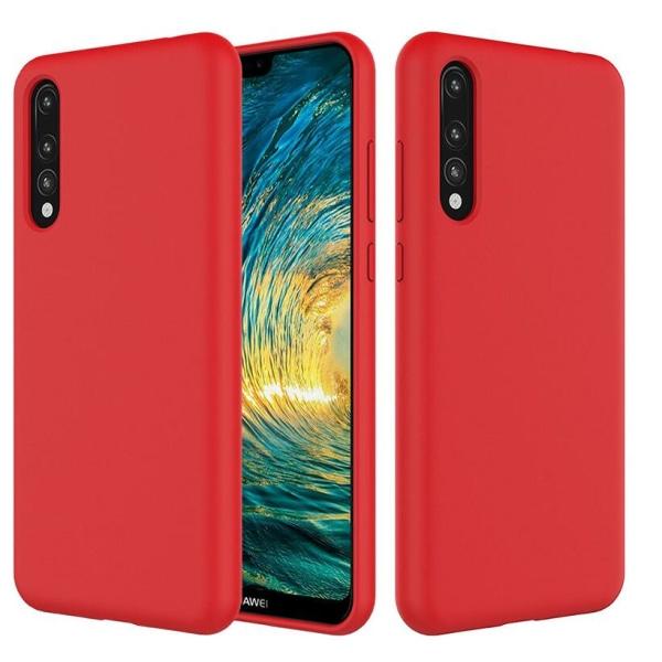 Huawei P20 Pro Ultratunn Silikonskal - fler färger Röd