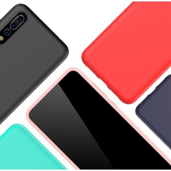 Huawei P20 Pro Ultratunn Silikonskal - fler färger Svart