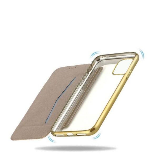 iPhone 11 Pro Max Plånboksfodral TPU Ultraslim design - fler fär Rosa