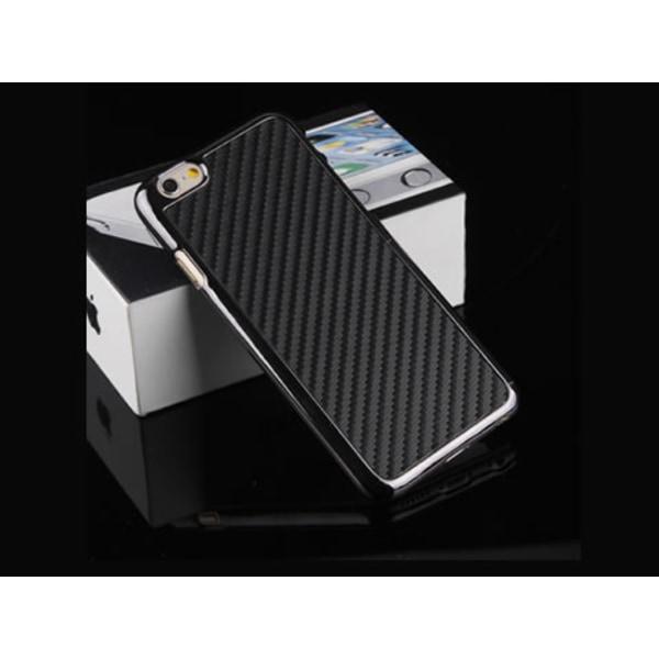 iPhone 6/6S Carbon fiber Skal - fler färger Vit