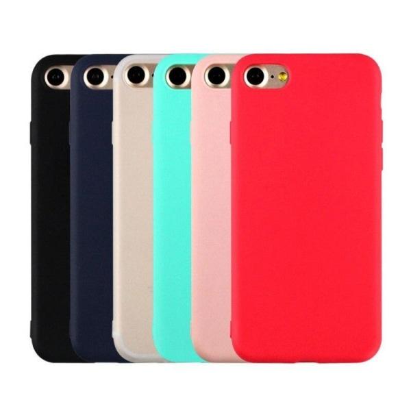 iPhone 6/6S Ultratunn Silikonskal Svart