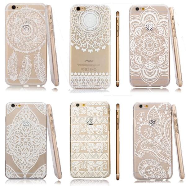 Mandala Skal till iPhone 6/6S - Olika motiv MultiColor Motiv 3