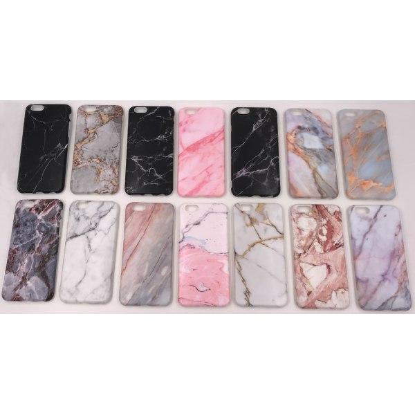 Marmorskal iPhone 8 - flera färger MultiColor Motiv 9