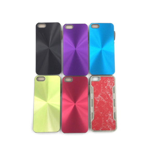 Metallic Shine Skal iPhone 5/5S/SE - fler färger Grön