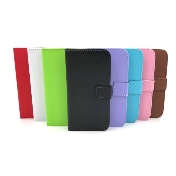 Plånboksfodral 2 fack iPhone 6/6S - fler färger Brun
