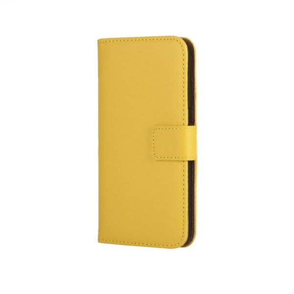 Plånboksfodral Äkta Skinn LG G4 - fler färger Gul