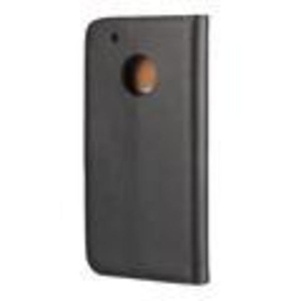 Plånboksfodral Äkta Skinn Moto G5 - fler färger Rosa