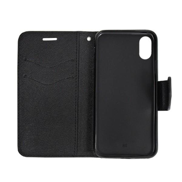 Plånboksfodral Fancy iPhone Xs Max - Svart - fler färger Black