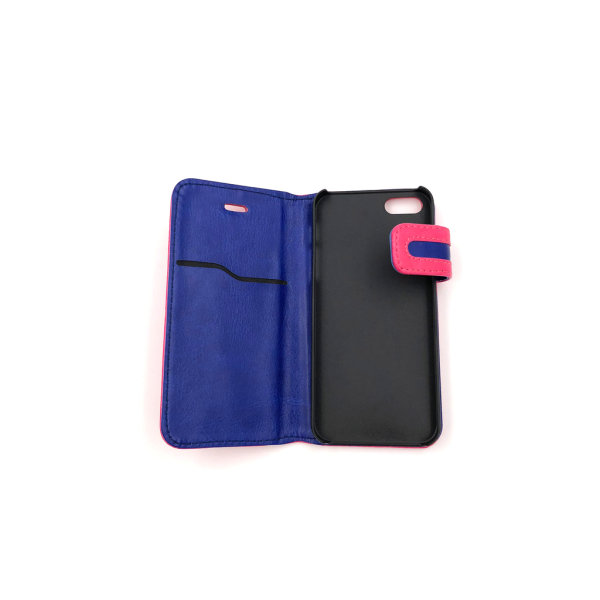 Plånboksfodral Hög flärp till iPhone 5/5S/SE - fler färger Vit