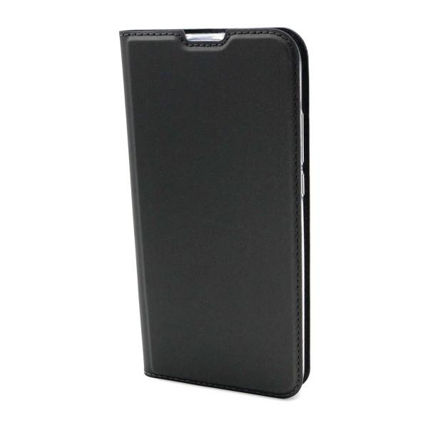 Plånboksfodral Ultratunn design Samsung Note 10 - fler färger Mörkgrå