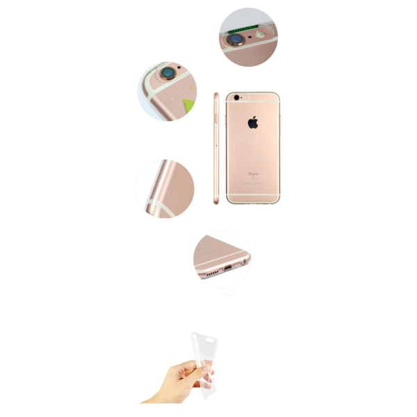 Roliga Djur Motiv Silikon/TPU Skal till iPhone 6/6S multifärg