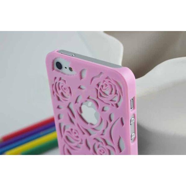 Rosmönstrade Skal till iPhone 5/5S/SE - fler färger Grön