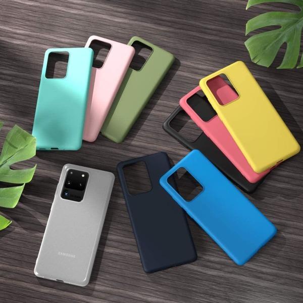 Samsung S20 Ultra - Ultratunn Silikonskal - fler färger Turkos