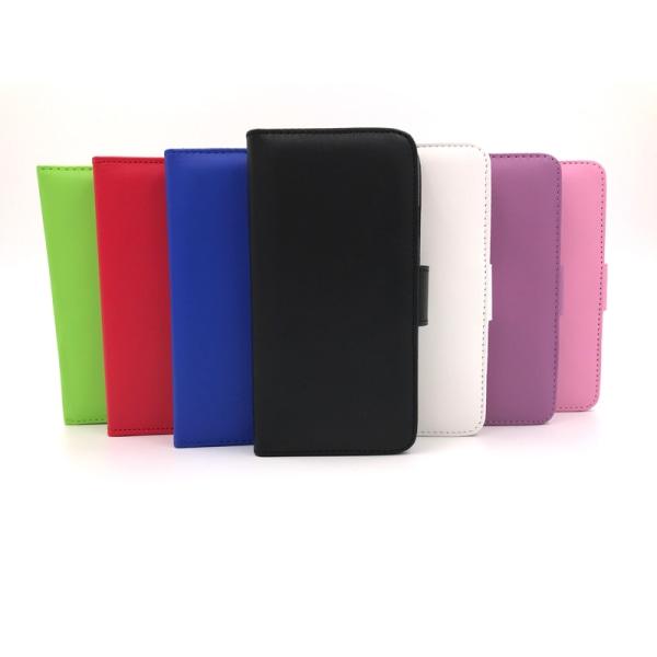 Samsung S6 Edge PLUS Plånboksfodral 4 fack - fler färger Röd